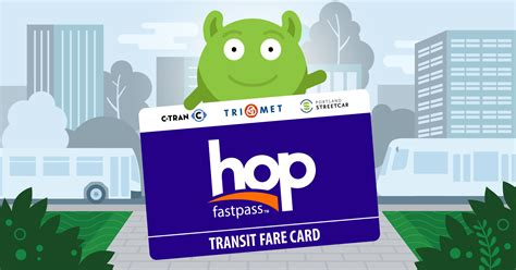 My fellow pals are excited to show you what they've created! Hop Fastpass Transit Fare Card for TriMet, C-TRAN and Portland Streetcar