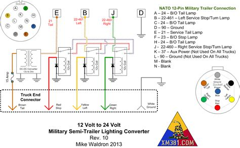 12 pin trailer wiring diagram wiring diagram and