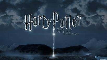 Potter Harry Wallpapers Deathly Hallows Desktop Tapety