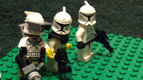 Lego Star Wars Order 66 Good Soldiers Follow Orders Stop