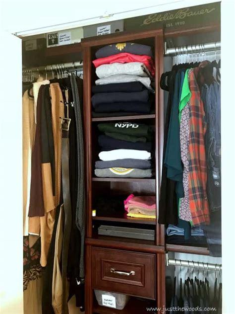 solutions  small closet organization