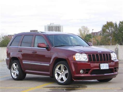 jeep srt 2007 test drive 2007 jeep grand cherokee srt8 autos ca