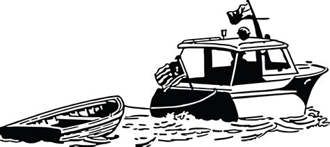 Boat Clipart Black And White Free by Boat Clip Black And White Image