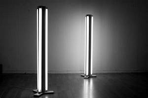 Fluorescent floor lamp 9 steps with pictures for Floor lamp with tube light