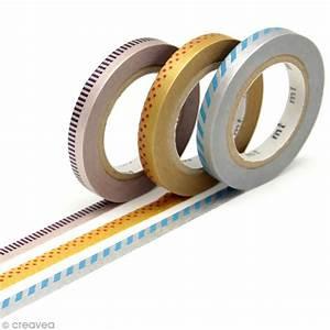 Masking Tape Doré : masking tape slim d co argent et dor 3 rouleaux 6 mm x 10 m assortiment de masking tape ~ Teatrodelosmanantiales.com Idées de Décoration
