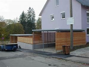 stahl carport und holz sichtschutz in schwenningen With französischer balkon mit garten carport