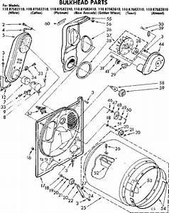 Bulkhead Parts Diagram  U0026 Parts List For Model 11087582710