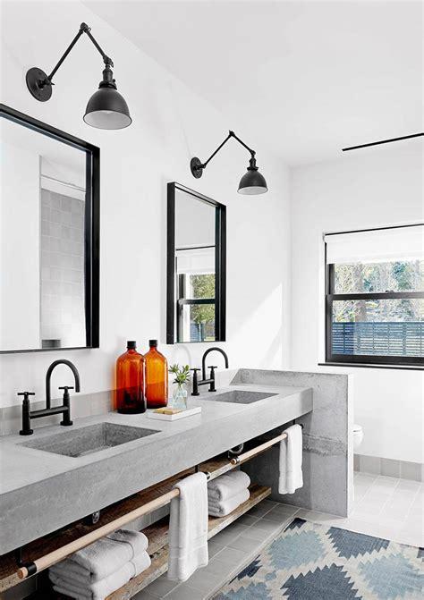 a kitchen sink 15 exles of bathroom vanities that open shelving 1134