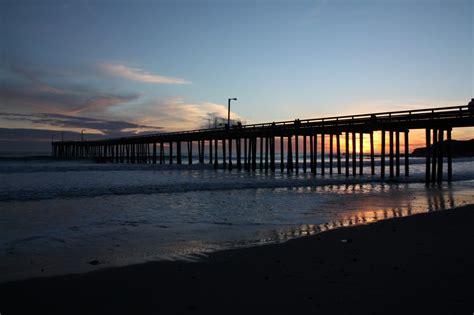 pier cayucos california piers fishing beach map southern beaches state historic coast californiabeaches kyle