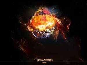 Global Warming - Burning Earth by fatality888 on DeviantArt