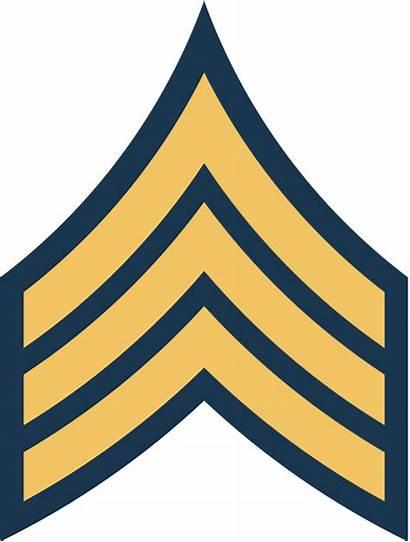 Army Rank Sergeant Stripes Ranks Svg Clipart