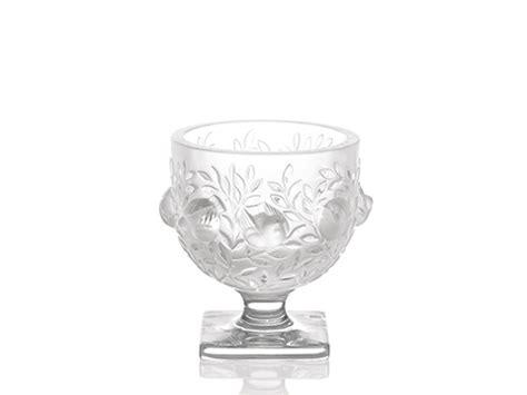 vasi lalique vaso elisabeth in cristallo lalique serra roma