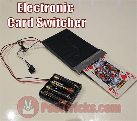 Electric Card by Electronic Card Changer Ghost Post Tricks