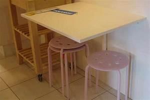 Table Cuisine Petit Espace : cr er un coin repas dans une petite cuisine ~ Teatrodelosmanantiales.com Idées de Décoration