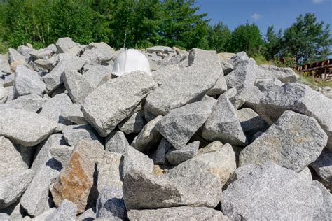 Rock for Ditches and Erosion Control | NE Materials in Vermont