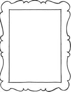 picture frame template printable picture frames templates your own picture frame coloring page preschool ideas