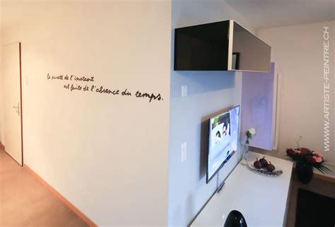 phrase cuisine phrase sur un mur artiste peintre suisse