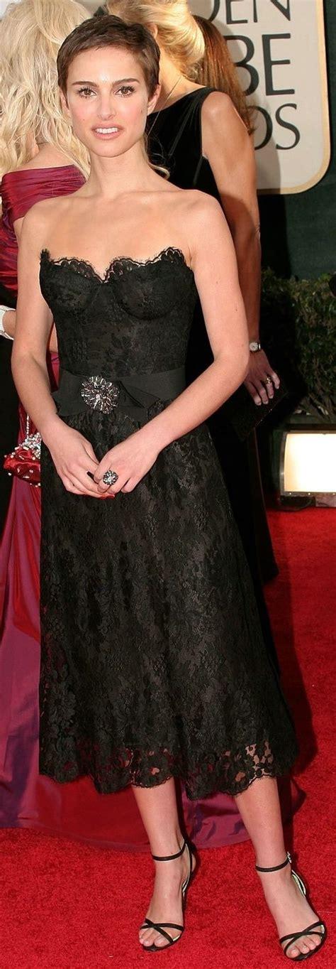 Natalie Portman Chanel Haute Couture Golden