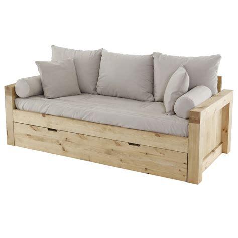 plan canapé bois canape convertible tiroir maison design wiblia com