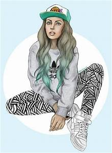 Hipster girl drawing | Hipster | Pinterest | Awesome, This ...