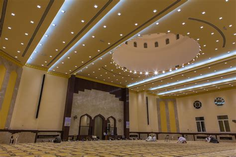 Led Lights For Prayer Room by The Middle East S All Led Mosque Prayer Rooms