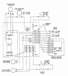 Figure 6 Chiller Module Electrical Schematic