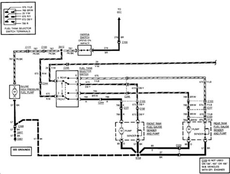 Ford F 350 Fuel Tank Diagram by I A 89 Ford F350 With 2 Fuel Tanks Truck Runs On