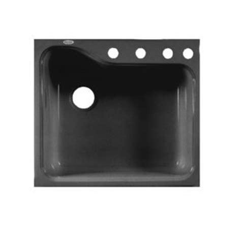 Americast Kitchen Sinks Silhouette by American Standard Silhouette Single Bowl Kitchen 25 Quot Sink