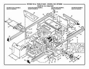 Ryobi Bt3000 Parts