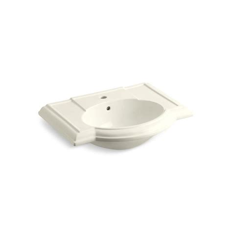 kohler pedestal sink mounting bracket kohler devonshire 4 7 8 in vitreous china pedestal sink