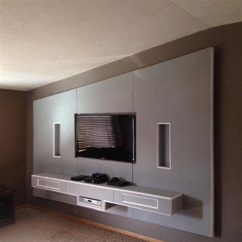 drywall art contemporary living room  metro
