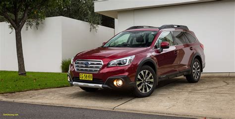 subaru outback redesign cars blog