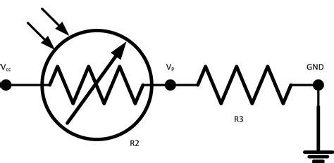 Electronic Circuit Photocell Led Cmd Response