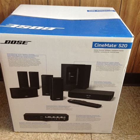 bose cinemate 520 home theater system brand new bose promote bose home theater ebay