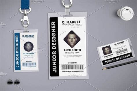 press id card templates illustrator ms word pages