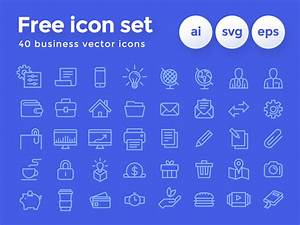 Freebie  U2022 Business Icon Set By Diego Naive On Dribbble