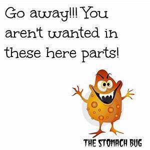 Dear Stomach Vi... Stomach Flu Funny Quotes