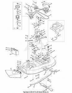 Mtd 13ap61gg897  2009  Parts Diagram For Mower Deck 42 Inch