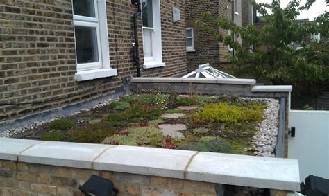 build a living roof green roof
