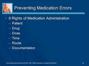 health care adaptations for the child and family ppt With 6 rights of medication