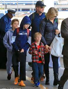 Will Ferrell and his family depart LA for the snowy slopes ...