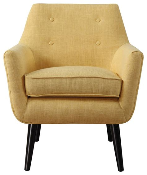Mustard Yellow Accent Chair by Tov Furniture Clyde Mustard Yellow Linen Chair Tov A38 Y