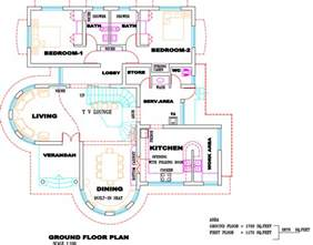 villa home plans gallery for gt kerala villa house plans