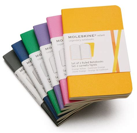 Moleskine Volant Moleskine Volant Mini Ruled Notebook Gifts For Writers