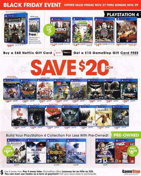 black friday  gamestop ad scan buyvia