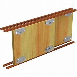 Meuble Bas Porte Coulissante : rail pour porte coulissante de meuble pico 25 mantion ~ Dailycaller-alerts.com Idées de Décoration