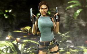 Download Lara Croft Tomb Raider Anniversary Wallpaper