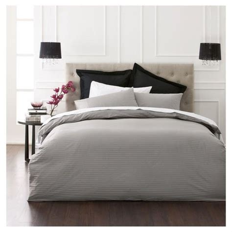 charcoal quilt cover set king bed kmart
