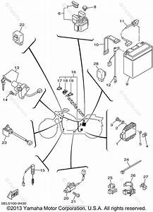 Yamaha Motorcycle 2002 Oem Parts Diagram For Electrical