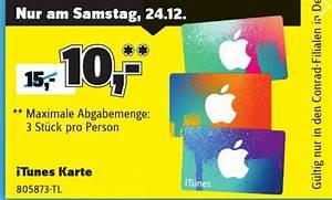 Itunes Karte Auf Rechnung : conrad 33 prozent rabatt auf itunes karten macerkopf ~ Themetempest.com Abrechnung